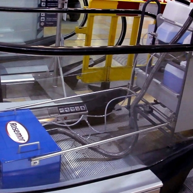 Keeping It Clean. Rosemor is a leader in the niche market of escalator-cleaning machines